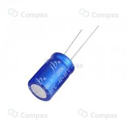 Kondensator elektrolityczny THT, 0.1uF, 50V, 2000h, 5x11mm, -40+85, JB