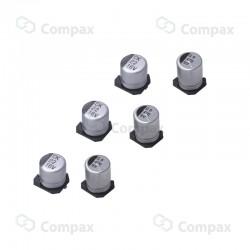 Kondensator elektrolityczny SMD, 47uF, 25V, 2000h, 6.3x5.4mm, -40+85, JB
