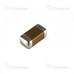 Kondensator ceramiczny MLCC SMD, 1206, 3.3nF, 5%, 50V,  C0G, SAMSUNG