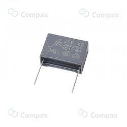 Kondensator polipropylenowy metalizowany THT, X2, 82nF, 275V AC, -40+110, 13x12mm, 10mm, JB
