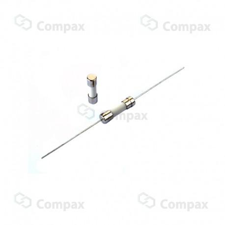 Bezpiecznik ceramiczny THT, 5x20mm, szybki, 2A, 250V AC, EC