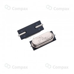 Rezonator kwarcowy HC49/SMD, 16.00MHz, 30ppm, -20°C +70°C, 20pF, YL