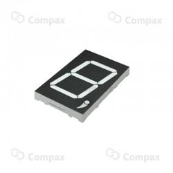 Wyświetlacz LED THT, 7-SEG, pojedynczy, 3.0 cal, Czerwony (Ultra Red), 645nm, 320mcd, anoda, Betlux