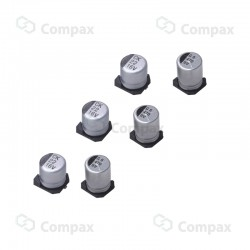 Kondensator elektrolityczny SMD, 33uF, 25V, 2000h, 6.3x5.4mm, -40+85, JB