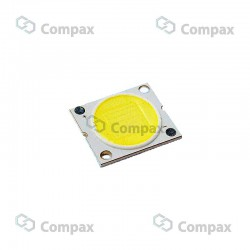 LED mocy COB, 7W, Biały zimny, 6500K, 800-890lm, 120°, 13.5x13.5mm, LuckyLight