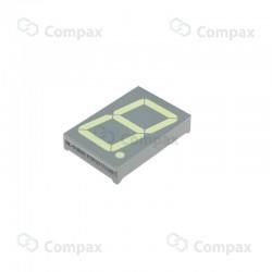 Wyświetlacz LED THT, 7-SEG, pojedynczy, 1.8 cal, Czerwony (Ultra Red), 645nm, 130mcd, anoda, Betlux