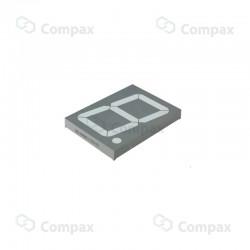 Wyświetlacz LED THT, 7-SEG, pojedynczy, 4.0 cal, Czerwony (Ultra Red), 645nm, 320mcd, anoda, Betlux